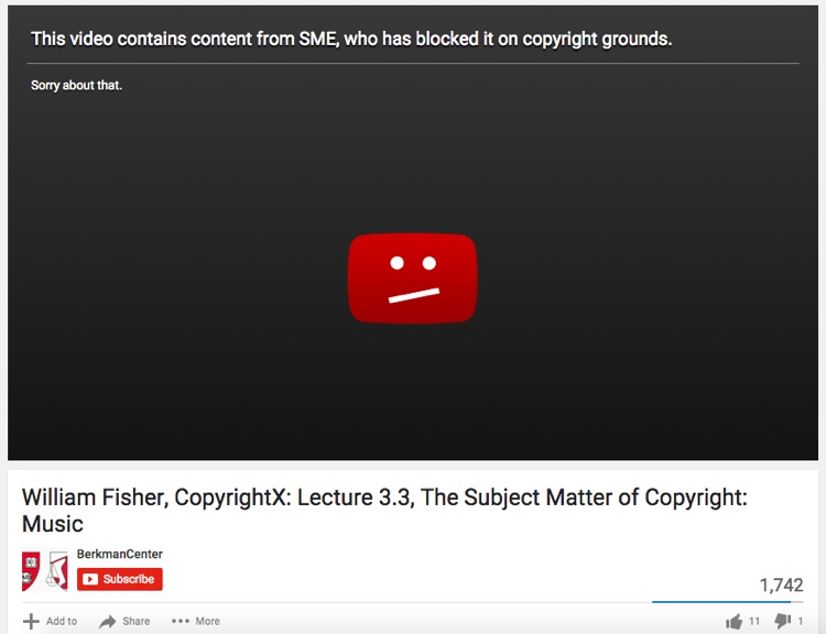 Sony Music Says A Harvard Copyright Lecture Violates Its Copyrights Digital Music News