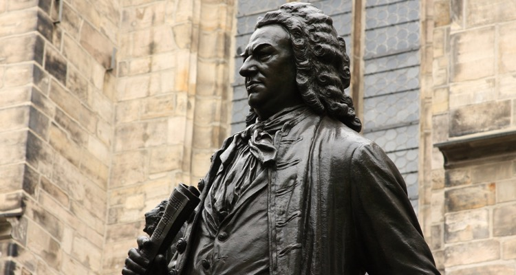 Statue of JS Bach, Leipzig