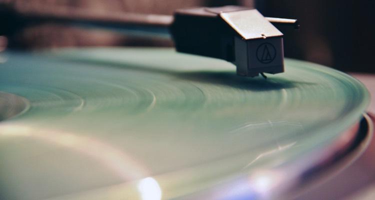 A Vinyl Record & Player