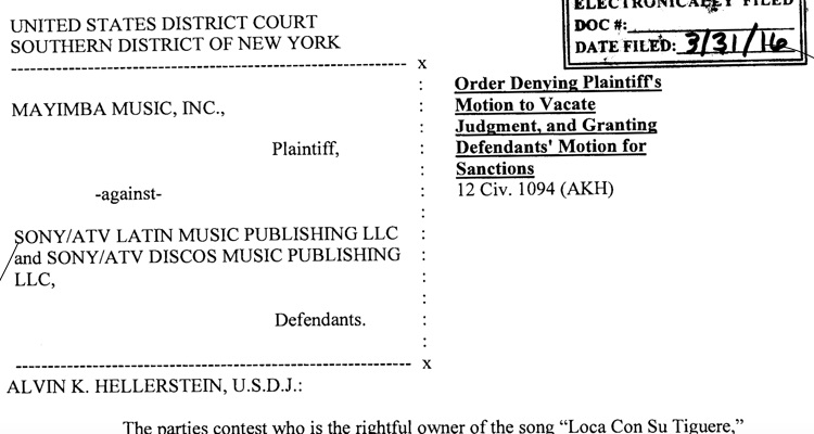 Sony Demands $750,000 After Fake Evidence Emerges In Lawsuit