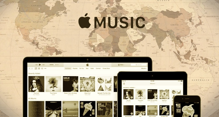 Apple Music, Worldwide