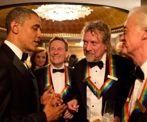 Zeppelin Meets Obama