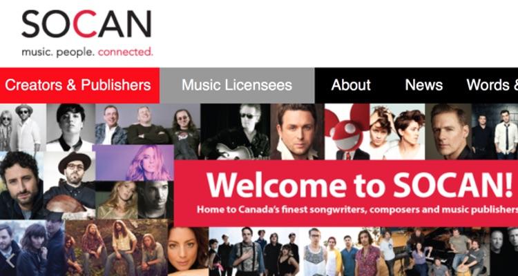 SOCAN Acquires B2B Digital Platform MediaNet
