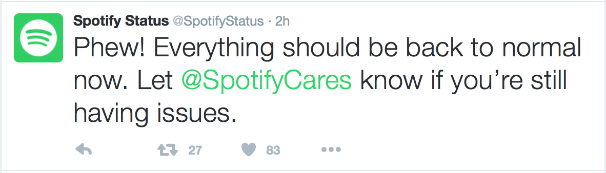 Users Unable To Stream Music On Spotify, Due To Technical Issues