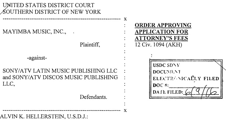 Music Company Forced To Pay $400,000 After Faking Evidence In Sony Music Lawsuit