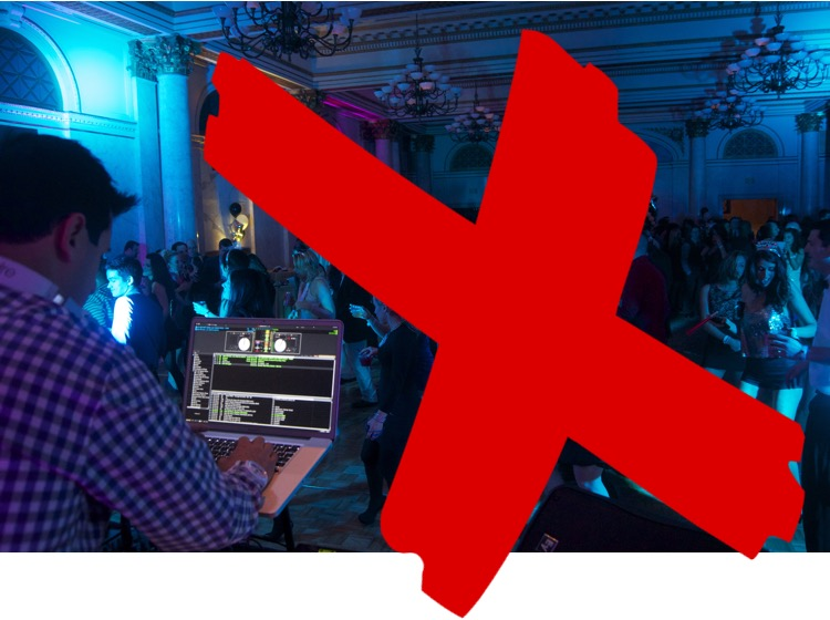 No Laptop DJs!