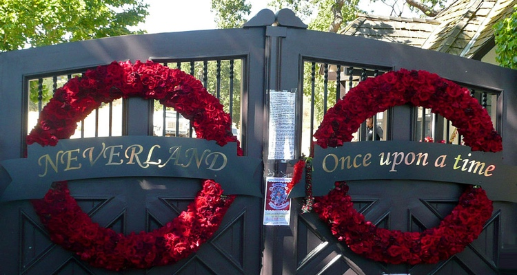Gates of Neverland; Leaving Neverland alleges widespread sexual predation happened inside these gates.