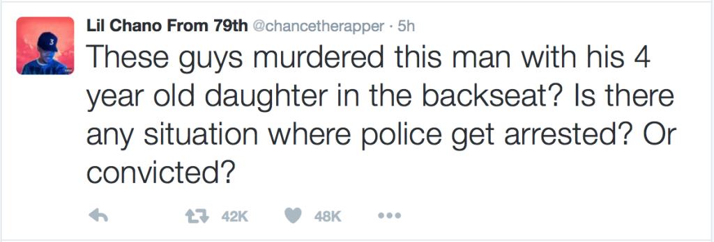 Chance The Rapper Speaks Out On Philando Castile Killing