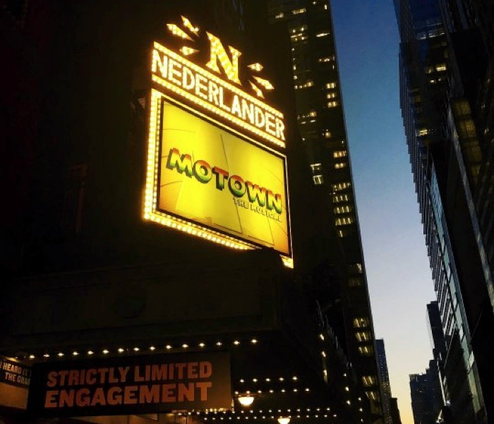 Motown: The Musical at the Nederlander