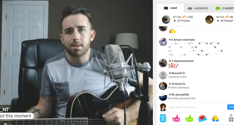 This Musician Makes $10,000 a Month Live Streaming From Home
