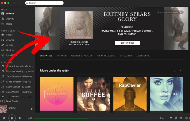 Britney Spears on Spotify