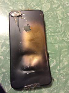 Damaged iPhone 7 Second Shot