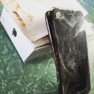 Damaged iPhone 7