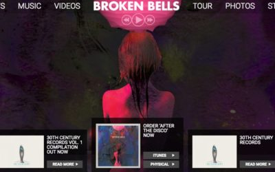 How to Make a Website: Broken Bells