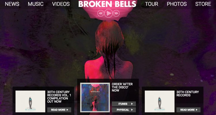 How to Make a Website: Broken Bells