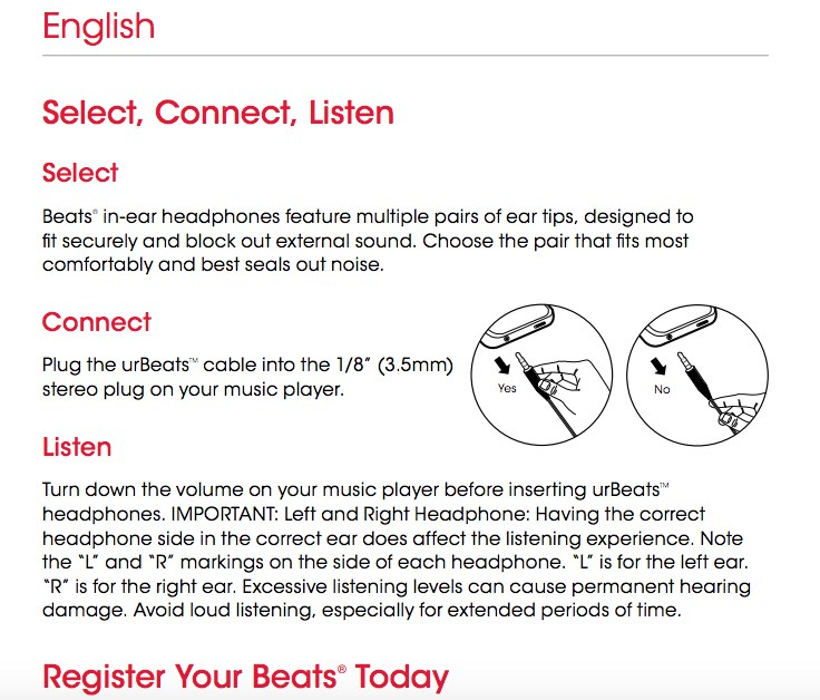 Beats by Dre Releases Earbuds That Don't Work With the iPhone 7 on beats by dre owner's manual, beats by dre cover, beats studio wireless, beats earbuds wiring diagram, beats by dre accessories, beats by dre frame, beats headphones jack pinout, beats by dre replacement cable, beats by dre headphones, beats by dre power, beats by dre serial number, beats by dre cord replacement, beats studio wiring diagram, setup cubase midi connection diagram, dre headset jack diagram, beats audio wiring diagram, beats by dre repair,