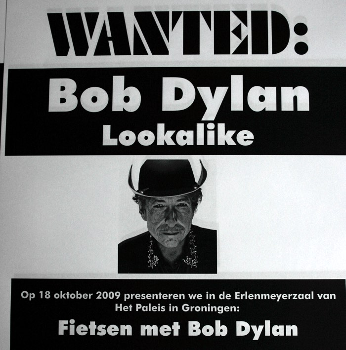 Wanted: Bob Dylan Lookalike