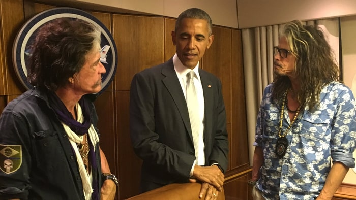 Music, Politics, Aerosmith, and Obama
