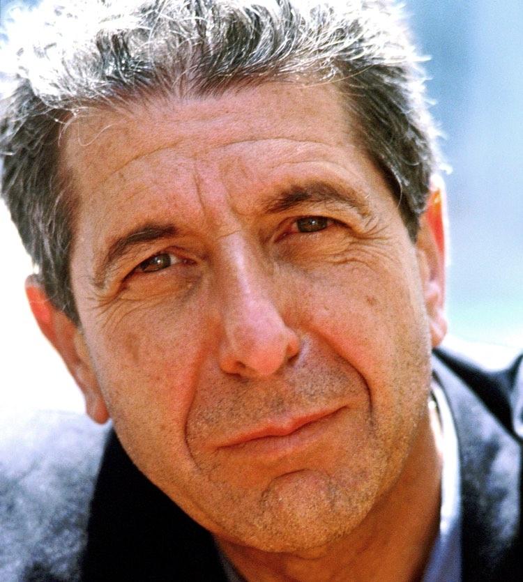 Leonard Cohen, 1988.