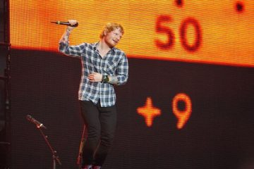 Ed Sheeran's Castle on the Hill and Shape of You Top Spotify Charts