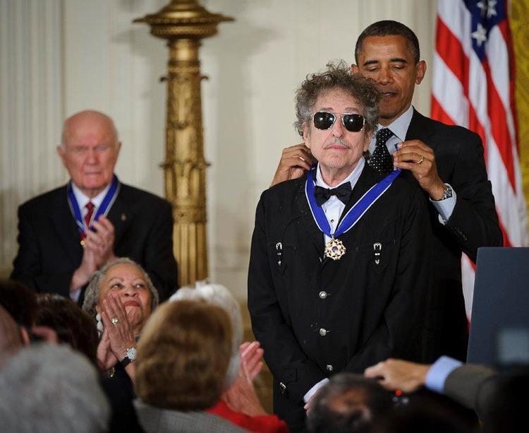 Bob Dylan (2012; Public Domain)