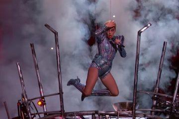Lady Gaga Theatrics at Super Bowl LI