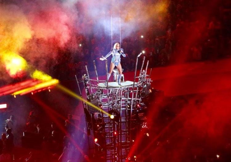 Super Bowl LI Halftime Show featuring Lady Gaga