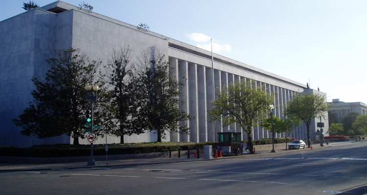 James Madison Memorial Building in Washington, DC, which houses the Library of Congress and U.S. Copyright Office (photo: UpstateNYer CC 3.0)