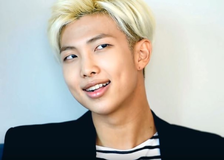 Kim Nam-joon, aka 'Rap Monster' of Kpop group BTS accused of stealing lines