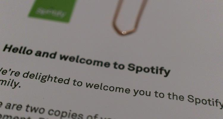 Spotify Letter