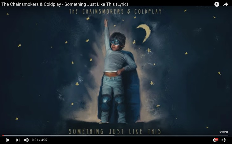 The Chainsmokers + Coldplay Just Smashed a YouTube Viewing Record With 'Something Just Like This' Lyric Video