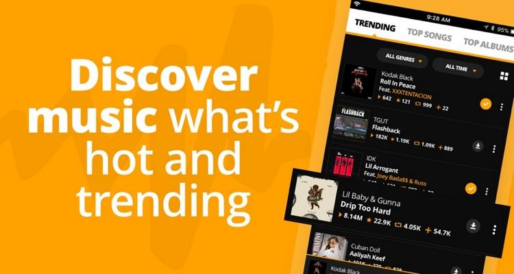 Best Free Music Apps – Audiomack