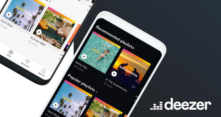 Best Free Music apps – Deezer