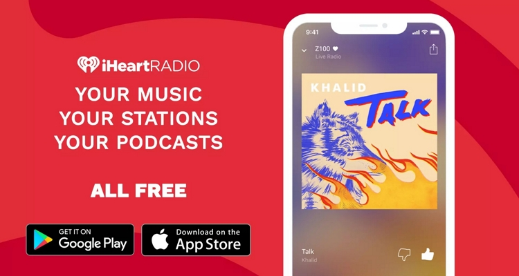 Best Free Music Apps – iHeartRadio