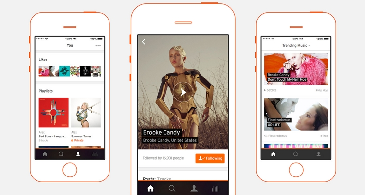 Best Free Music Apps – SoundCloud