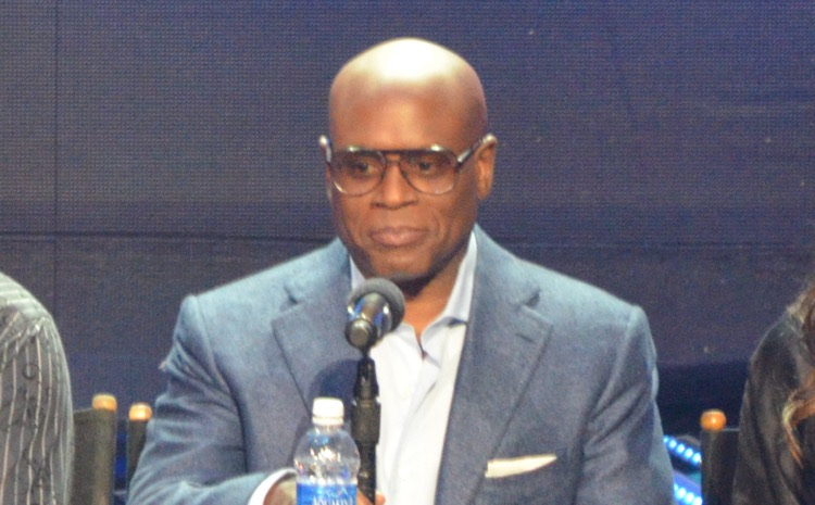 Antonio 'L.A.' Reid judges on 'X Factor,' around the start of his Epic tenure (photo: RCR)