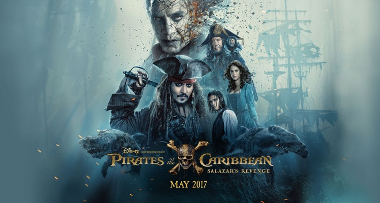 Pirates of the Caribbean: Dead Men Tell No Tales (Promotional Poster)
