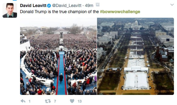 Bow Wow Challenge: The Trump Inauguration