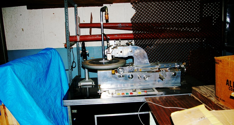 A Vinyl Records Lathe