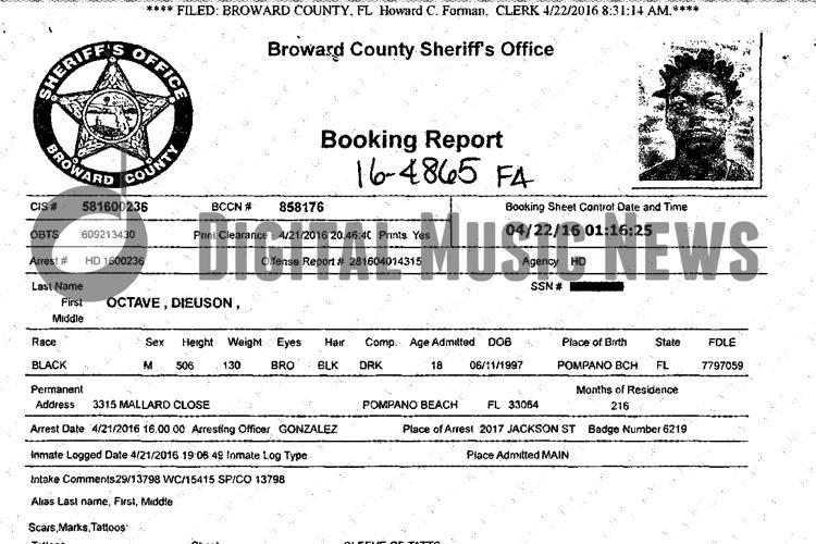 Kodak Black Arrest Amp Release Papers Leaked Online