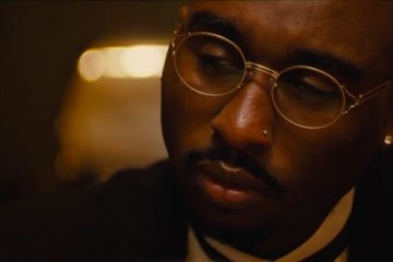 Tupac Shakur, as featured in the film 'All Eyez on Me'