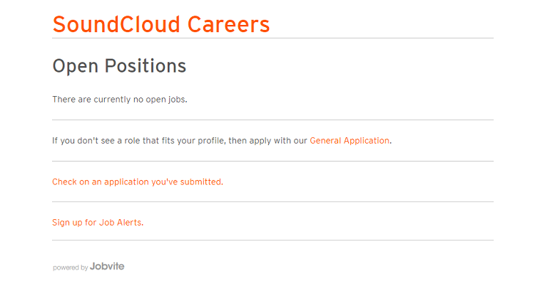 Despite Layoffs, SoundCloud Is Actively Posting New Jobs