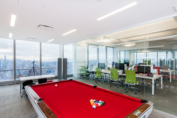 Spotify's plush digs at 4WTC