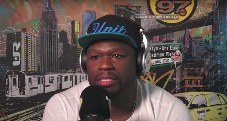 50 Cent on Hot97 in New York, 2017