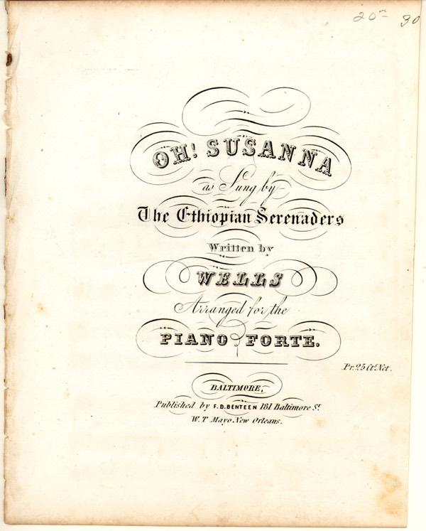 The Original Lyrics to 'Oh Susanna' Are Brutally Racist
