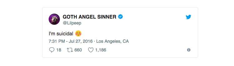 Lil Peep 'Suicide Cocktail': 6 Xanax, Cocaine, Ecstacy