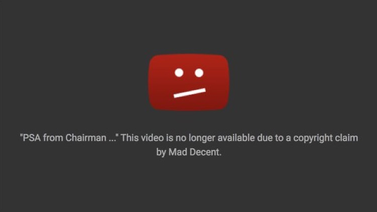 FCC chairman Ajit Pai PSA removed by YouTube on Friday