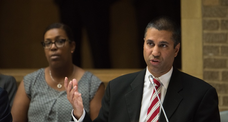 FCC Commissioner Ajit Pai, who initially downplayed more than a million fake comments submitted ahead of the agency's vote to repeal net neutrality.