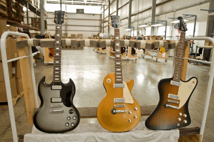 Bankrupt Gibson Guitar Is Trying to Dismiss a $60 Million Supplier Lawsuit