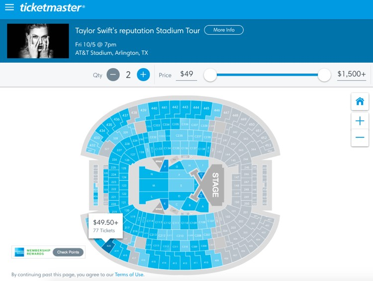 Taylor Swift Ticket Prices are Sinking Below $50 In Multiple US Cities